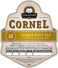 12° Single Malt Ale Cornel