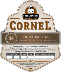 14° IPA (India Pale Ale) Cornel